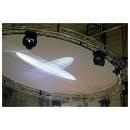 Cerchio panno bianco circonferenza 3m per Truss per fondali palco e proiezione