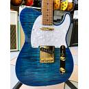 Suhr Classic T Deluxe Limited SS ABB Aqua Blue Burst MN