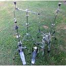 PEARL set di meccaniche (pedale, hi hat reggirullante, 2 aste piatto)