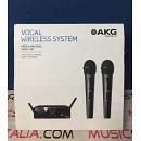 AKG WMS 40 PRO MINI2 VOCAL SET DUAL - DOPPIO MICROFONO WIRELESS - EX-DEMO GARANZIA 1 ANNO