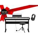 CASIO CDP S350 BK IDEA REGALO - pianoforte digitale con mobile in legno, sgabello, cuffie, leggio e