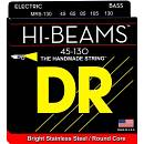 DR STRINGS MR5-130 HI-BEAMS MUTA PER BASSO 5 CORDE  45-130 SPEDITO GRATIS!