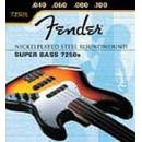 FENDER MUTA 7250 5L NICKEL PLATE.40-115