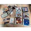 Nintendo DS Lite con vari giochi e 'chitarra' - rsg