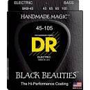 DR STRINGS BLACK BEAUTIES BKB-45  45/125 PER BASSO  5 CORDE SPEDITO GRATIS!