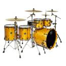 MAPEX - Sv628xb Mnl Saturn V Mh Exotic Rock Studioease 5-Piece Shell Pack In Amber Maple Burl batter
