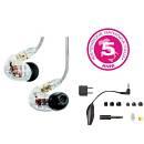 SHURE SE535-CLE AURICOLARI AD ISOLAMENTO SONORO CLEAR TRASPARENTE IN EAR MONITOR TRIPLO MICRO DRIVER