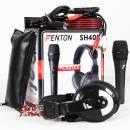 SET DJ MICROFONO CUFFIA E CAVI FENTON SH400