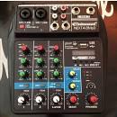 Technosound NEXT4 B/MP3 MIXER 4 CANALI PLAYER MP3 BLUETOOTH