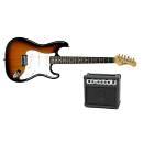 Luke & Daniel EG110kitTS - kit chitarra elettrica con amplificatore