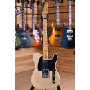 Fender American 70th Anniversary Broadcaster Maple Neck Blackguard Blonde