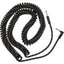 Fender Deluxe Coil Cable, 30', Black Tweed mt 9