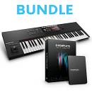 Native Instruments Bundle Komplete Kontrol S61 MK2 + Komplete 11 Ultimate - Keystation + Soundbank e