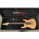 Suhr Modern Carve Top Ultra Quilted Natural Gloss with Brazilian Rosewood and Reverse Matched Headst