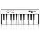 IK Multimedia iRig Keys MINI - Mini master keyboard a 25 tasti per sistemi Android, iOS, PC e MAC