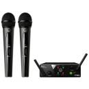 AKG WMS40 MINI DUAL VOCAL SET RADIOMICROFONO A MANO DOPPIO WMS-40