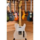 Fender Custom Shop Vintage Custom 58 Telecaster TL Maple Neck Aged White Blonde