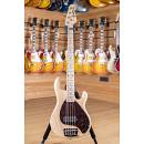 Music Man Sting Ray 5 Natural Tortoise Shell Maple Fingerboard