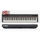 YAMAHA P125B - PIANOFORTE DIGITALE 88 TASTI PESATI NERO