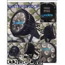 ip 65 waterproof led par 9x20 rgbw 4in1 full color resistenti all'acqua