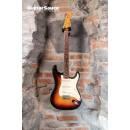 Fender Stratocaster Vintage Reissue 62 Fullerton Red Bottom AVRI Sunburst RW Neck 1982 Rare Low Seri