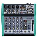 ZZIPP ZZMXBTE6 mixer 6 canali con multieffetto DSP e Bluetooth