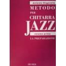 Edizioni musicali ONGARELLO METODO X CHIT. JAZZ VOL.1 LA P -MLR416-