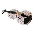 Recording King Violino 3/4 per principianti decorazione Hello Kitty