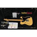 Fender Custom Shop Telecaster Thinline 51 Relic Butterscotch Blonde Blackguard 2007 Used Great Condi