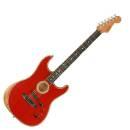 CHITARRA ACUSTICA FENDER American Acoustasonic Stratocaster Ebony Fingerboard Dakota Red