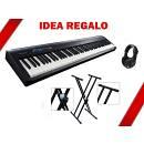 Roland FP 30 BK - piano digitale - IDEA REGALO CON SUPPORTO DOPPIA ''X'' E CUFFIA.