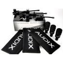 AUDIX D2 TRIO SET 3 MICROFONI DINAMICI IPERCARDIODE TOM + 3 CLAMPS DVICE + 3 BORSE P1