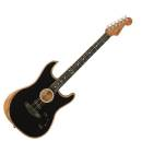 CHITARRA ACUSTICA FENDER American Acoustasonic Stratocaster Ebony Fingerboard Black