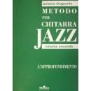 Edizioni musicali ONGARELLO METODO X CHIT. JAZZ V.II L'APP -MLR510-