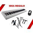 Roland FP 30 WH - piano digitale - IDEA REGALO CON SUPPORTO DOPPIA ''X'' E CUFFIA.