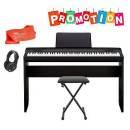 CASIO PRIVIA PX 160 BK - PIANOFORTE DIGITALE - MOBILE, LEGGIO, PANCHETTA, CUFFIA, PANNO POLVERE E PE
