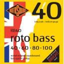 ROTOSOUND MUTA X BASSO 4C NICKEL 040-100