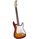 Fender Deluxe Stratocaster HSS Plus Top CHERRY BURST con iOS Connectivity