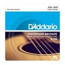Daddario - EJ16 Phosphor Bronze 12/53