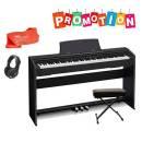 CASIO PX 770 BK - PIANOFORTE DIGITALE 88 TASTI nero - MOBILE, LEGGIO, PANCHETTA, CUFFIA, PANNO POLVE