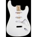 SBF-OW - Corpo per chitarra elettrica tipo Strato - Ontano - Olympic White