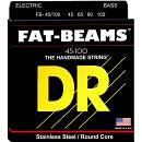 DR HANDMADE STRINGS FB45-100 - 4 CORDE PER BASSO BEAMS STAINLESS STEEL