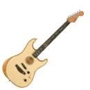 CHITARRA ACUSTICA FENDER American Acoustasonic Stratocaster Ebony Fingerboard Natural