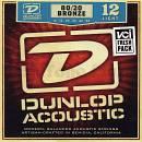 Dunlop Muta corde per chitarra acustica Dunlop DAB12-54