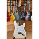 Fender American Standard Stratocaster Rosewood Neck Olympic White with Lace Sensor Plus & Meccaniche