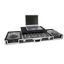 Custodia DS-1 2xCD/1xM-19 LT  Professionale flycase DJ con vassoio notebook