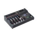 Soundsation Miomix 404fxm - Mixer Audio Professionale 6-canali Con Lettore Usb, Bt E Multi-effetto D