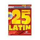 Edizioni musicali ALBUM 25 LATIN VOL.1+CD MIb INSTRUMENTS -ML2555-