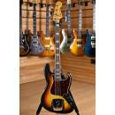 Fender Original Vintage 1966 American Jazz Bass 3 Color Sunburst