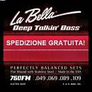 LA BELLA DEEP TALKIN' BASS 760FM MUTA LISCIA PER BASSO